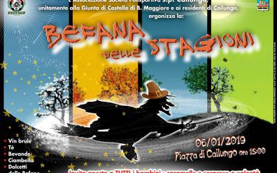 Befana in piazza Cailungo R.S.M.
