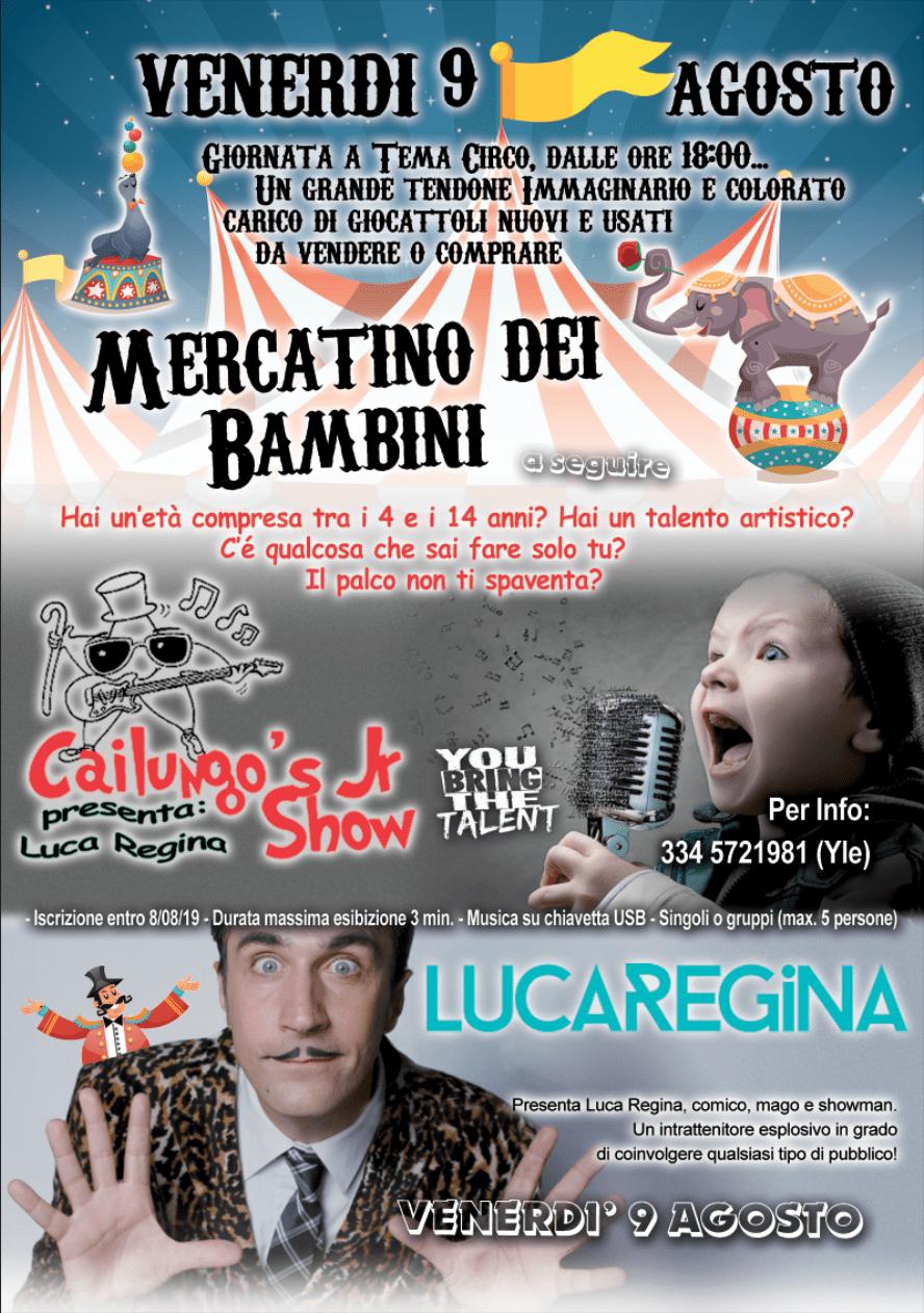 Cailungo's Jr Show Talent - Mercatino dei Bambini