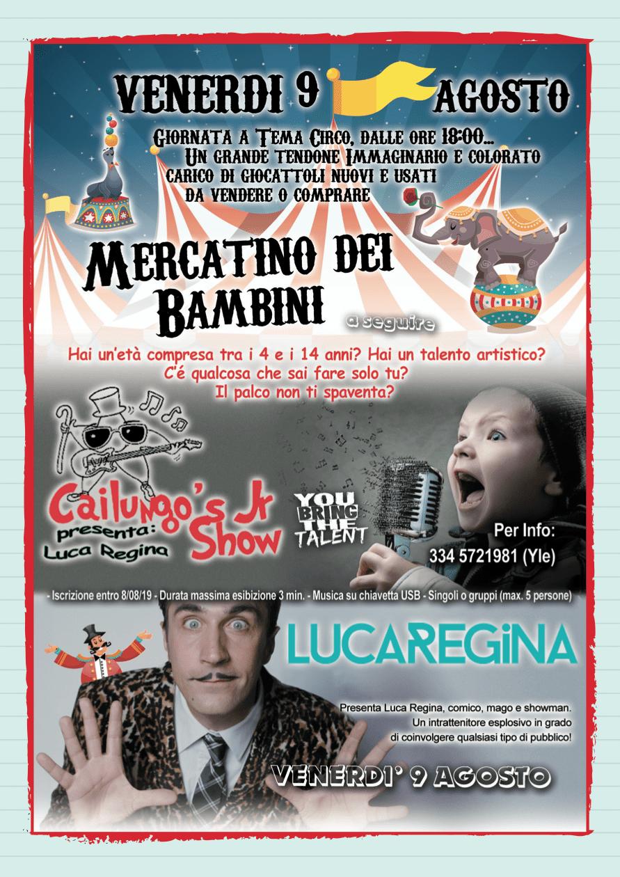 Festa di San Rocco Cailungo 8-11 agosto 2019