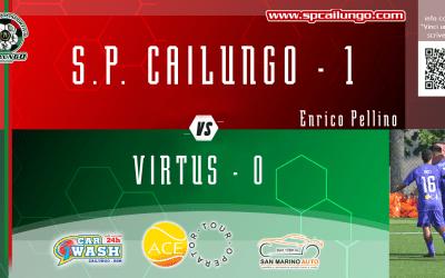 Virtus vs Cailungo 0-1 verso la vetta
