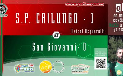 sp Cailungo vs San Giovanni 1 - 0 - Siamo in Q1