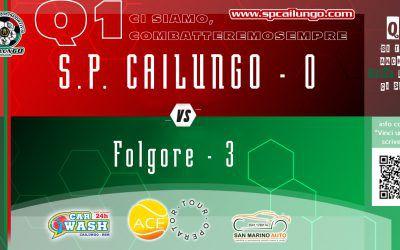 Folgore vs Cailungo 3-0 amara realtà del Q1