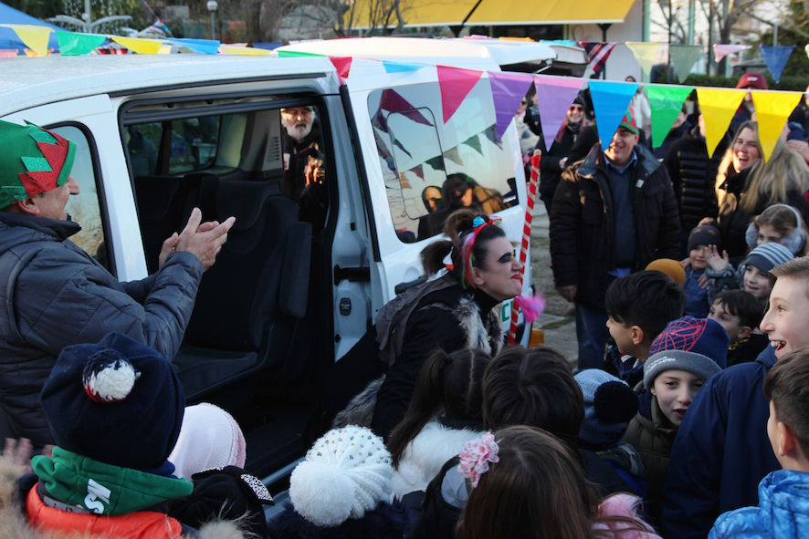 Arriva la Befana in piazza a Cailungo