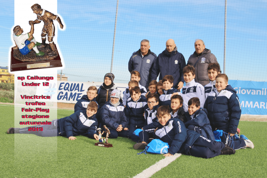 sp Cailungo U 12 trofeo Fair Play