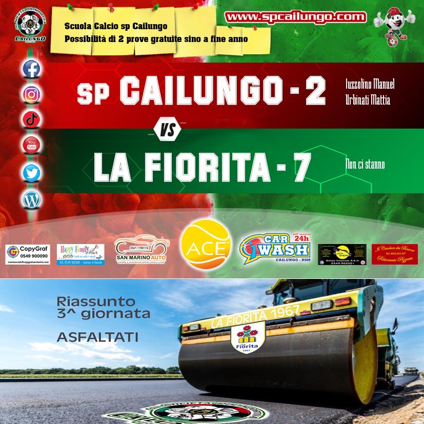 Cailungo vs La Fiorita 2-7