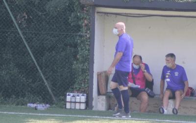 sp Cailungo conclude con l'allenatore, Antonio Bianchi
