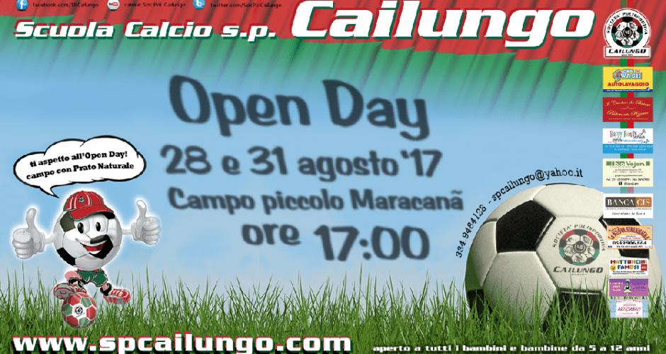 Open Day Scuola Calcio sp Cailungo 2017/2018