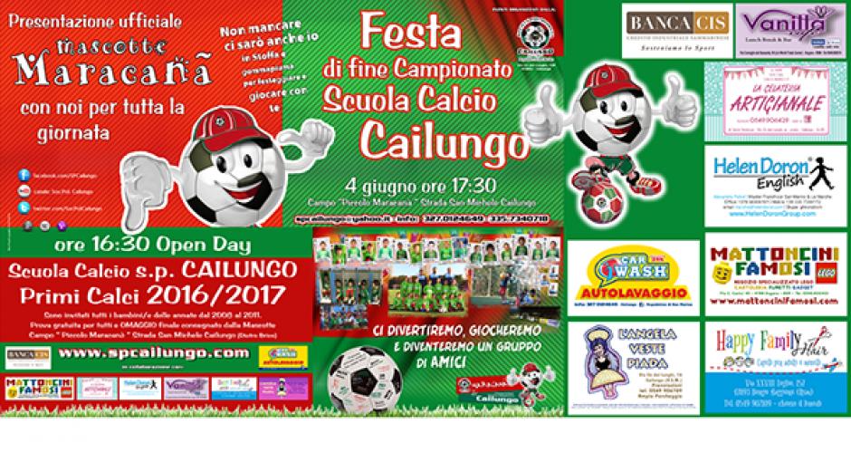 Festa Calcio fine campionato Primi Calci