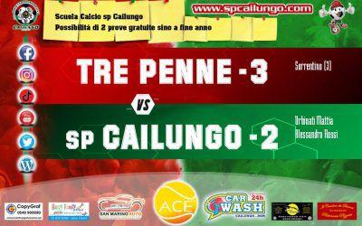Tre Penne vs Cailungo 3 - 2 Un bel Cailungo