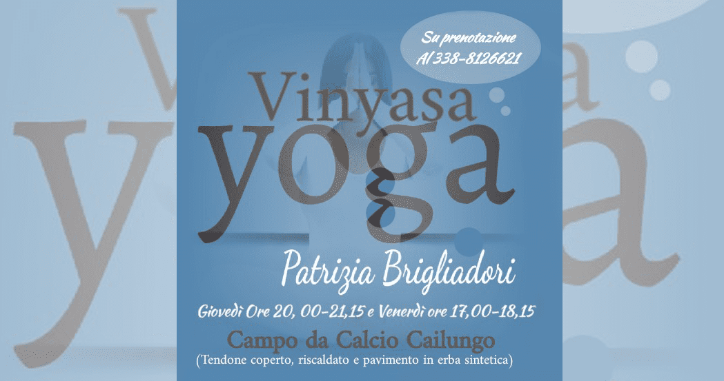 Vinyasa Yoga con Patrizia Brigliadori