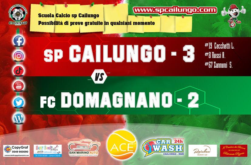 Cailungo vs Domagnano 28 feb 2021 vince il Cailungo 3-2