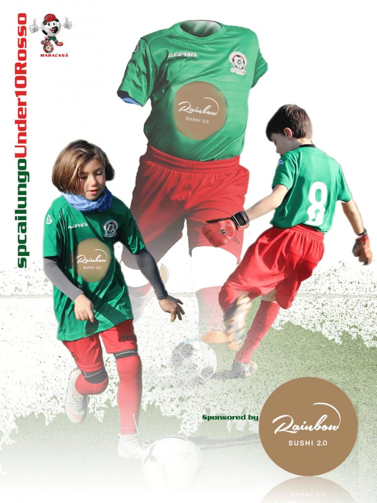 Scuola Calcio sp Cailungo Divisa U10 Rosso
