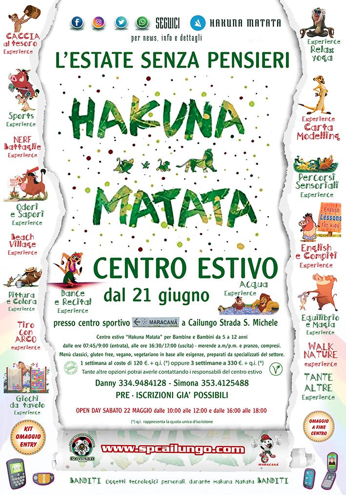 Hakuna Matata Centro Estivo a Cailungo