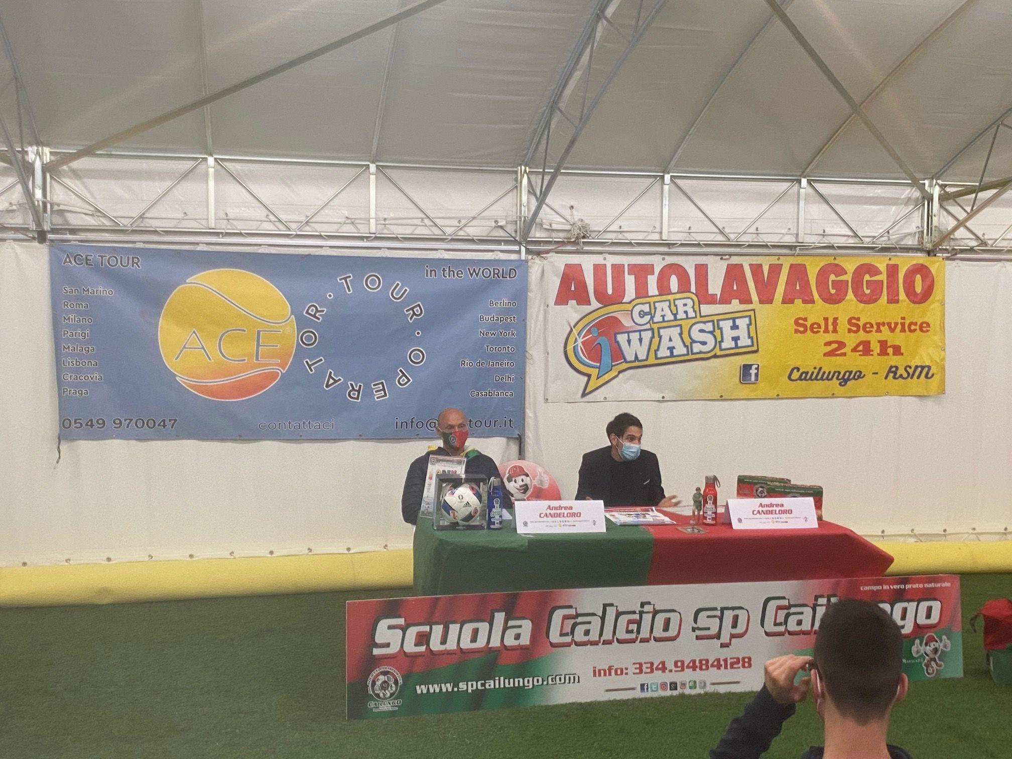 Andrea Candeloro conference presso sp Cailungo