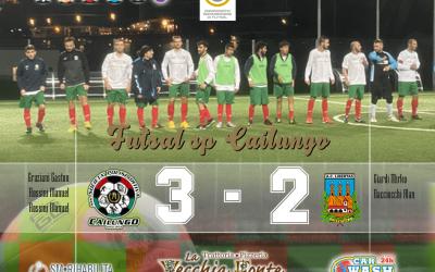 Futsal sp Cailungo prima volta vinciamo