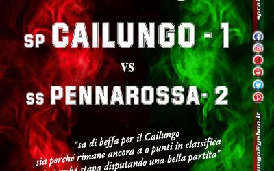 Cailungo vs Pennarossa 1-2